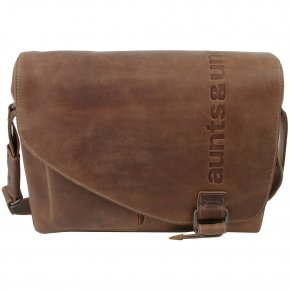 Aunts & Uncles MEDIUM JUDD Laptoptasche vintage tan