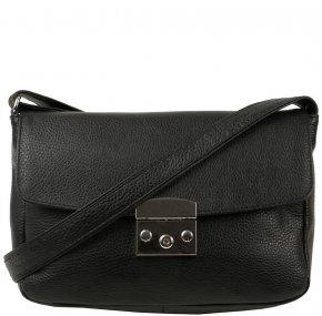 KETO Überschlagtasche schwarz
