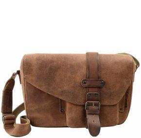 MILES Postbag M vintage tan
