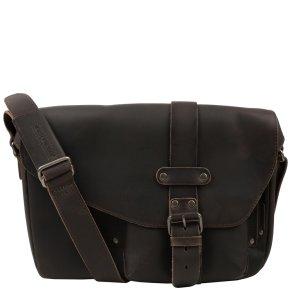 MILES Postbag M vintage brown