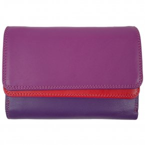 mywalit Double Flap Purse/Wallet Sangria Multi