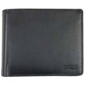 POCKET 110 black soft wallet