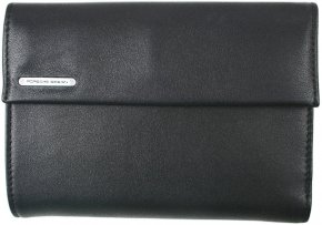 COINPURSE F14 große Damenbörse Schwarz