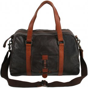 City Bag dark brown / mid brown