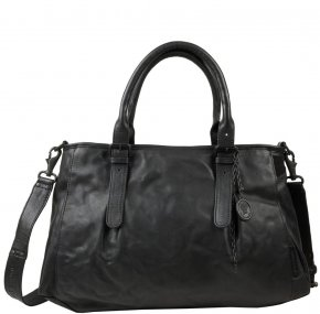 Aunts & Uncles MRS. SHORTBREAD Henkeltasche black smoke