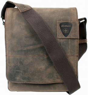 Strellson Kleine Messenger Bag dark brown