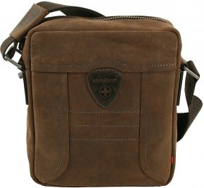 Strellson Kleine Messenger Bag Hunter dark brown