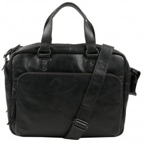 SUPERVISOR black Laptoptasche