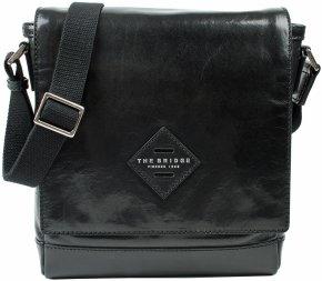 kleine Messenger Bag mit Ipad-Fach schwarz