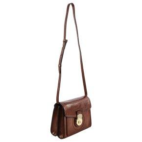 Damentasche braun Rindleder