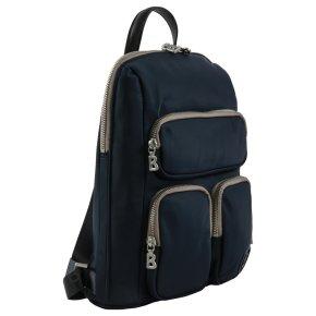 FISS Maxi backpack dark blue