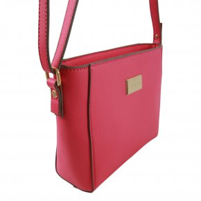 BE YOURSELF Schultertasche pink