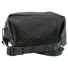 BUMBAG DOUBLE black denim