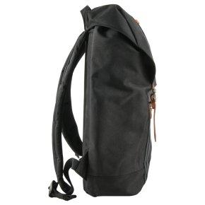 RETREAT Rucksack black/black/tan