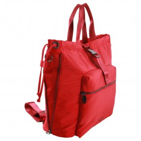 SUZA 2in1 Rucksack red