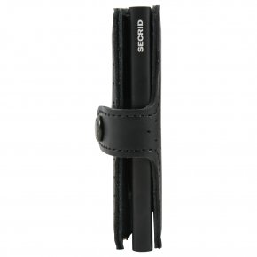 Miniwallet Perforated Black