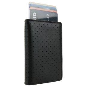 Slimwallet Perforated Black