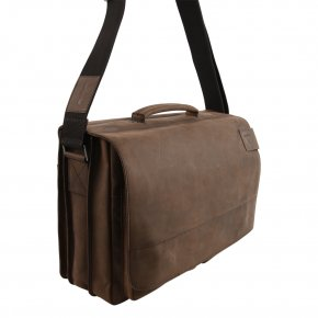 Business Bag XL mit Laptopfach dark brown