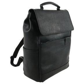 hyde park black backpack