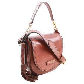 Damenhandtasche Rindleder braun