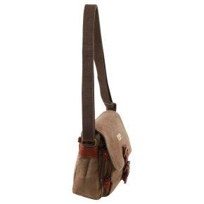 Across Body Bag Canvas brown