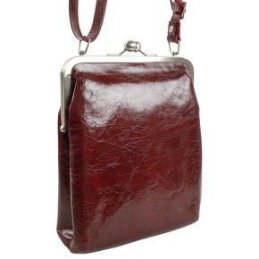 LOLA Handtasche vintage rubin