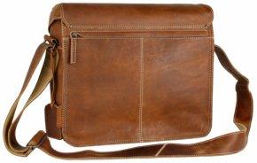 NICK Laptoptasche vintage tan