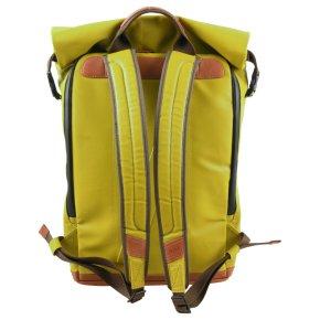 """FUKUI Rucksack 15"""" golden verde"""