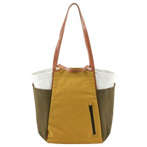 Takamatsu Shopper olive/golden verde