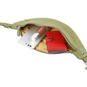 TAMARILLO-INKA Gürteltasche guacamole