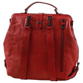 MRS. HUCKLEBERRY TART crimson red