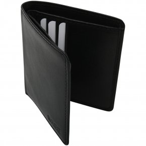 POCKET 103 Portemonnaie credit c.holder black soft