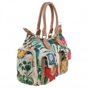CLIO LONDON Schultertasche crudo
