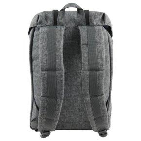 RETREAT Rucksack crosshatch/black