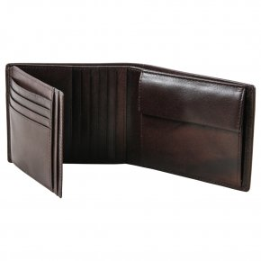 BRUSCHIED GANDOLF Portemonnaie dark brown