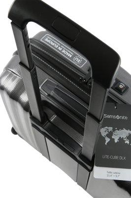 Lite Cube DLX Roll Tote grey