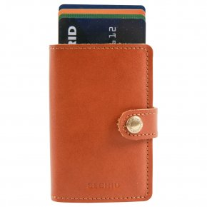 Miniwallet cognac-brown