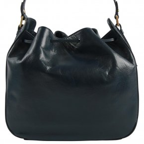Damentasche dunkelblau  Rindleder