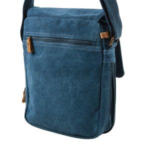 Across Body Bag Canvas blue