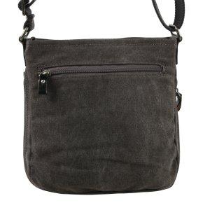 Across Body Bag Canvas black