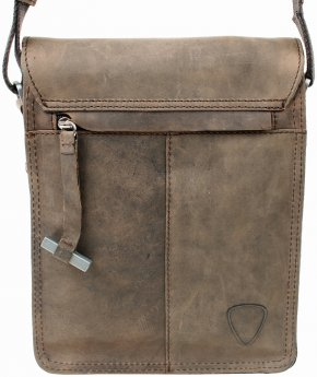 Kleine Messenger Bag dark brown