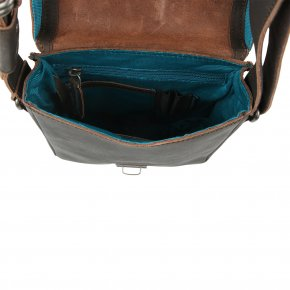 PERCY Postbag S vintage brown