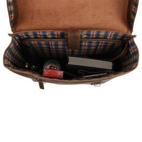 ANDREW Laptoprucksack vintage tan