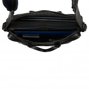 DORIAN black suit notebook