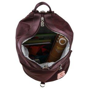 VERBIER DEBORA backpack burgundy