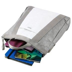 VARY 5 grey/white backpack