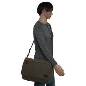 MOLINA khaki messenger bag