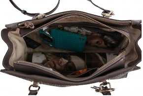 TAMRA SOCIETY CARRY Handtasche taupe