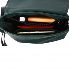 NAPPA 1 grün Handtasche Feinleder