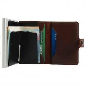 Miniwallet dark brown
